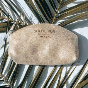 pochette cuir Estellon Soleil Pur