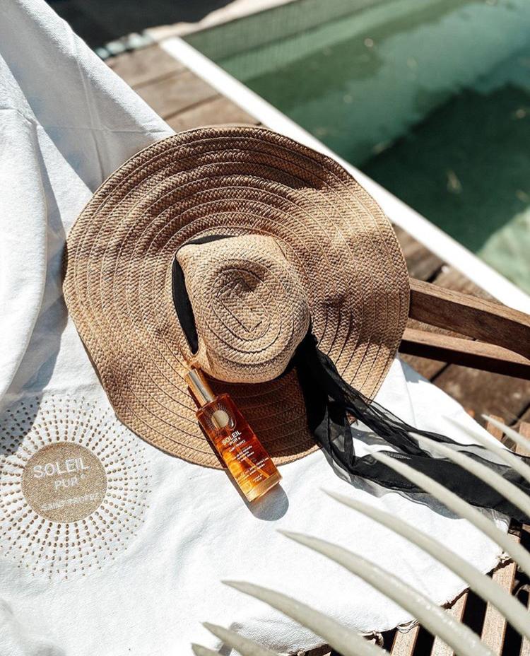 Huile sèche naturelle Soleil Pur Saint-Tropez